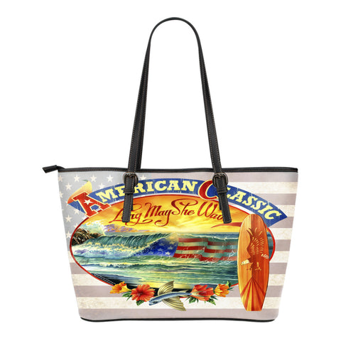 Jim Mazzotta Signature Line - American Classic - Small Leather Tote Bag!