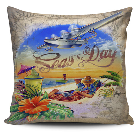Jim Mazzotta Signature Line - Seas The Day - Pillow Covers!
