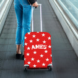 Ames Luggage Cover (Design D) - FREE SHIPPING