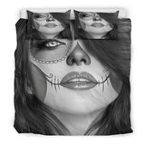 Calavera Fresh Look Design #3 Duvet Cover Set (Vintage Retro) - FREE SHIPPING