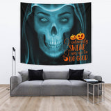 Up To No Good - Halloween Wall Tapestry - FREE SHIPPING