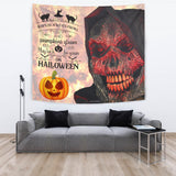 Lucky Halloween - Halloween Wall Tapestry - FREE SHIPPING