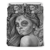 Calavera Fresh Look Design #2 Duvet Cover Set (Vintage Retro) - FREE SHIPPING