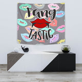 Fang Tastic - Halloween Wall Tapestry - FREE SHIPPING