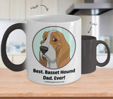 Best Basset Hound Dad / Mom Ever Color-Changing Coffee Mug
