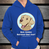 Best Golden Retriever Dad Ever Unisex Hoodie