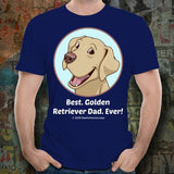 Best Golden Retriever Dad Ever Unisex Tee