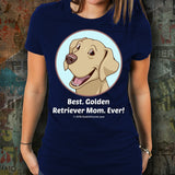 Best Golden Retriever Mom Ever Unisex Tee