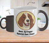 Best Springer Spaniel Dad / Mom Ever Color-Changing Coffee Mug