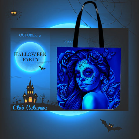 Calavera Fresh Look Design #2 Cloth Tote Bag!