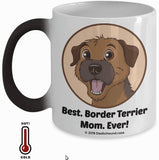 Best Border Terrier Dad / Mom Ever Color-Changing Coffee Mug