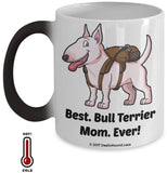 Best Bull Terrier Dad / Mom Ever Color-Changing Coffee Mug