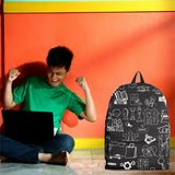 Business Success Chalkboard Backpack Design #3 - FREE SHIPPING
