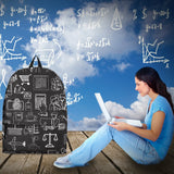 Business Success Chalkboard Backpack Design #4 - FREE SHIPPING