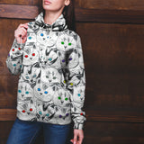 Cats Galore All Over Hoodie - FREE SHIPPING