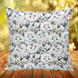 Cats Galore Pillow Covers