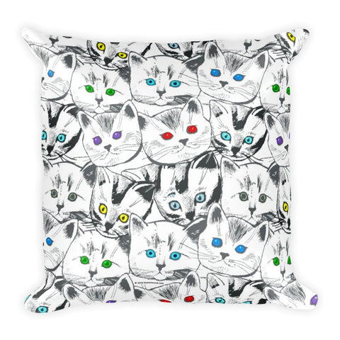 Cats Galore Pillow (Cover & Insert)