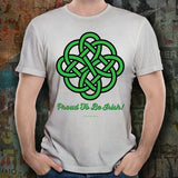 Celtic Knot Proud To Be Irish Unisex Tee Design #1