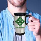 Celtic Knot Proud To Be Irish Mug Design #3 (9 Options Available)