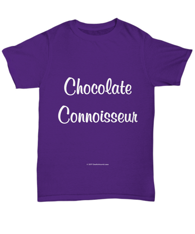 Chocolate Connoisseur Unisex Tee