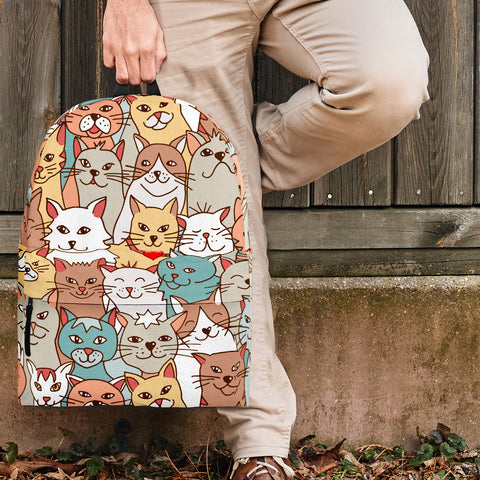 Crazy Cats Collection Backpack