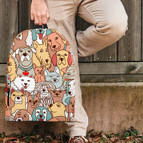 Crazy Dogs Collection Backpack - FREE SHIPPING
