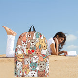Crazy Pets Collection Backpack - FREE SHIPPING