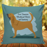 East Tennessee Bloodhound Rescue & Sanctuary Pillow Cover