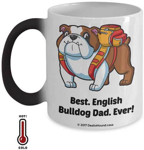 Best English Bulldog Dad / Mom Ever Color-Changing Coffee Mug
