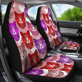 Fancy Pants Cat Car Seat Covers (Red)  - FREE SHIPPING