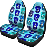 Fancy Pants Dog Car Seat Covers (Blue)  - FREE SHIPPING