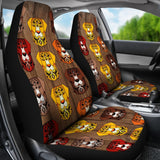 Fancy Pants Dog Car Seat Covers (Brown)  - FREE SHIPPING