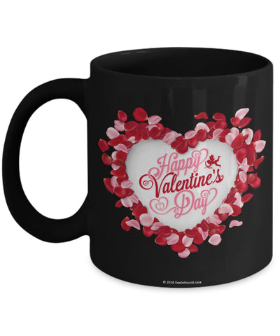Floral Heart Mug #2 (8 Options Available)