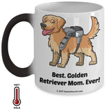 Best Golden Retriever Dad / Mom Ever Color-Changing Coffee Mug