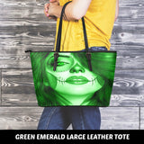Calavera Fresh Look Design #3 Large Leather Tote Bag!