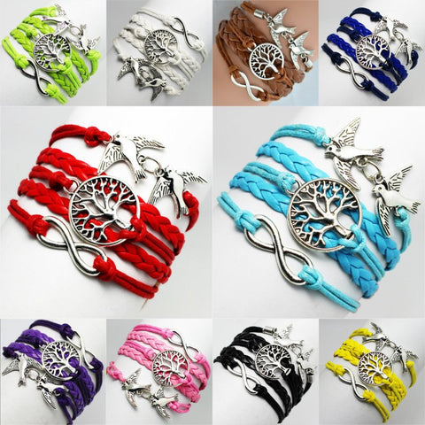 Infinity Tree Of Life Bracelets – 10 Great Colors!