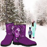 Calavera Fresh Look Design #2 Faux Fur Boots!