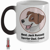 Best Jack Russell Terrier Dad / Mom Ever Color-Changing Coffee Mug
