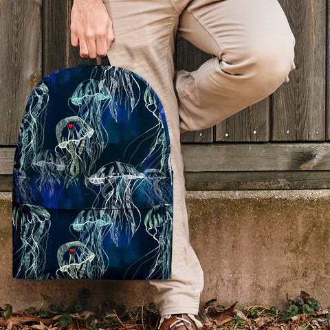 Sea Life Collection - Jellyfish Design #2 Backpack - FREE SHIPPING