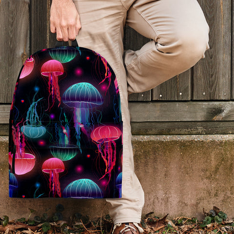 Sea Life Collection - Jellyfish Design #4 Backpack - FREE SHIPPING