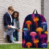 Sea Life Collection - Jellyfish Design #5 Backpack - FREE SHIPPING