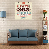365 Days Wall Poster