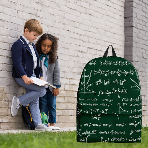 Mathematica Backpack Design #1 - FREE SHIPPING