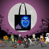 Momster (Blue) Halloween Trick Or Treat Cloth Tote Goody Bag