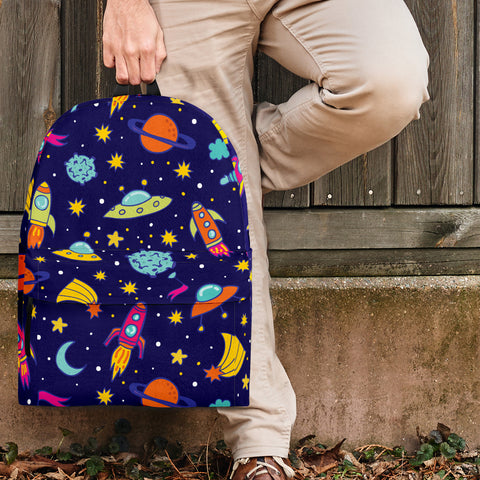 Outer Space Backpack Design #2