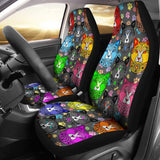 Fancy Pants Cat Car Seat Covers (Rainbow)  - FREE SHIPPING