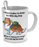 Sheltie 11 fl. oz. Back