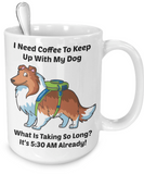 Sheltie 15 fl. oz. Back
