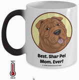 Best Shar Pei Dad / Mom Ever Color-Changing Coffee Mug
