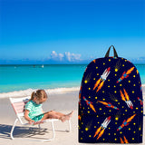 Space Rockets Backpack Design #1 - FREE SHIPPING